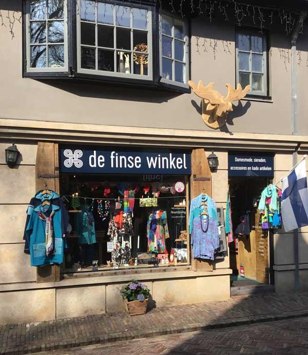 De Finse Winkel in Bergen (Noord-Holland)